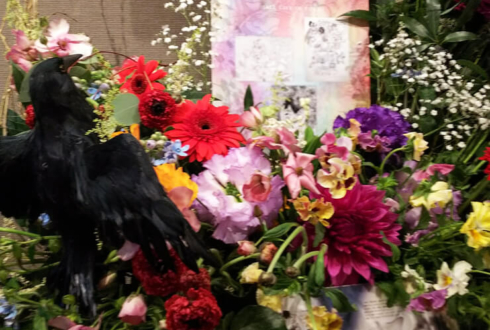 Mt.RAINIER HALL SHIBUYA PLEASURE PLEASURE 上北健様のライブスタンド花