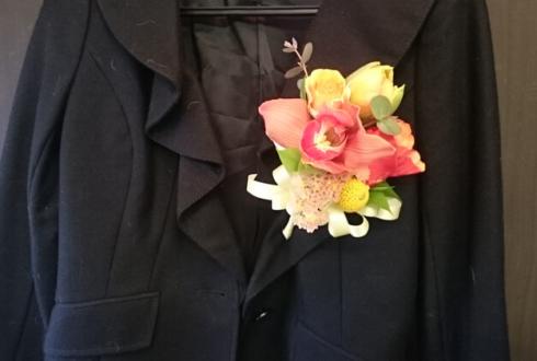 練馬区 豊玉小学校各先生方の式典正装用コサージュ