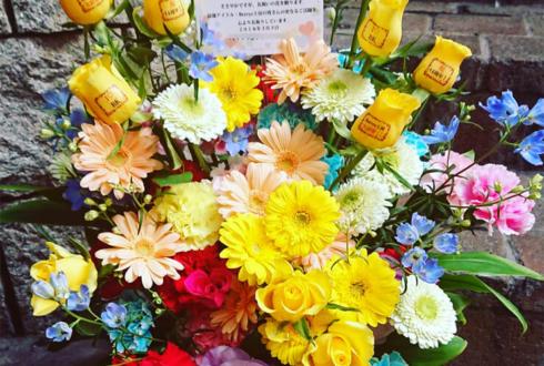 ラドンナ原宿 Berryz工房 清水佐紀様のデビューディナーショー祝い花