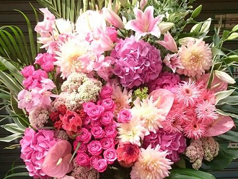 光が丘IMAホールに贈る花