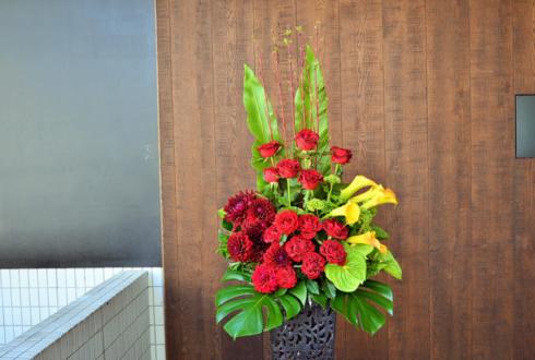 東京グランドホテル 下川眞季様の出版祝い&還暦祝いメタルスタンド花