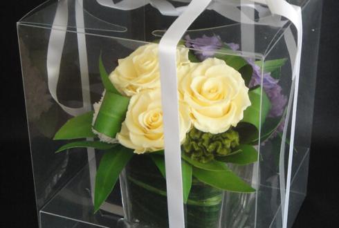 千代田区 周年祝い花 プリザーブドフラワー