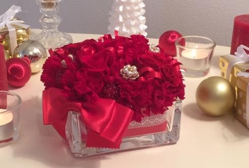 中央区 60歳の誕生日プレゼント 還暦祝いの花 プリザーブドフラワー