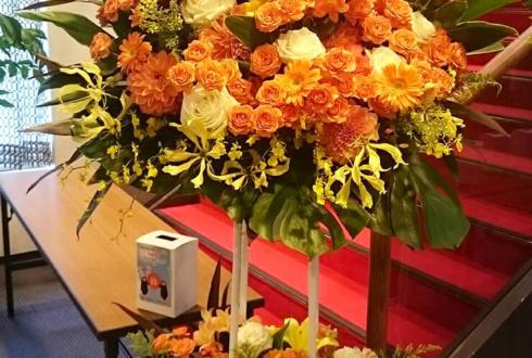 練馬文化センター 紅白歌合戦様の公演祝いスタンド花