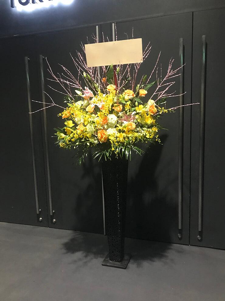 Zeppダイバーシティ東京 ライブ公演祝いスタンド花