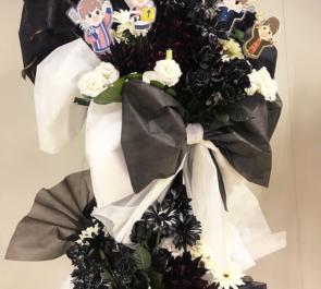 さいたまスーパーアリーナ 『DGS VS MOB LIVE SURVIVE』white × blackバルーンスタンド花