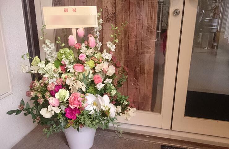 高円寺 美容室chucola by ONE'S様の開店祝い花