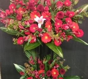 渋谷 SHIBUYA ROTT様の開店祝いスタンド花