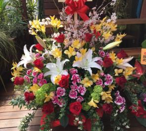 恵比寿南 good on様の開店祝い花