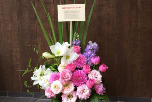 神楽坂 誕生日プレゼントにピンク系の花