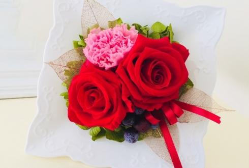 江東区 還暦祝いのバラ、プリザーブドフラワー
