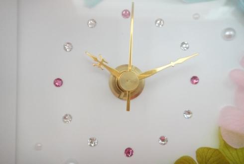 渋谷区 周年祝いの花 プリザーブドフラワー花時計
