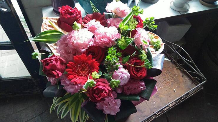 練馬文化センター バレエの発表会祝い花