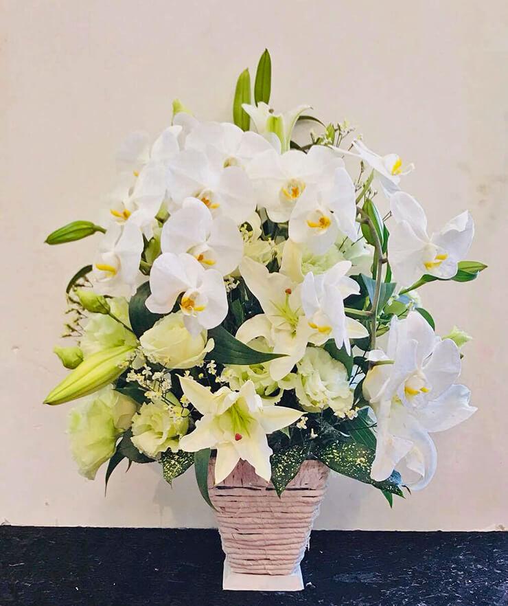 浅草 お供えの花