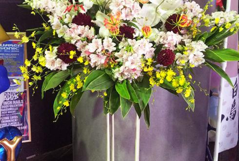 Shibuya O-EAST 二丁目の魁カミングアウト様の7周年&ワンマンライブ公演祝いスタンド花
