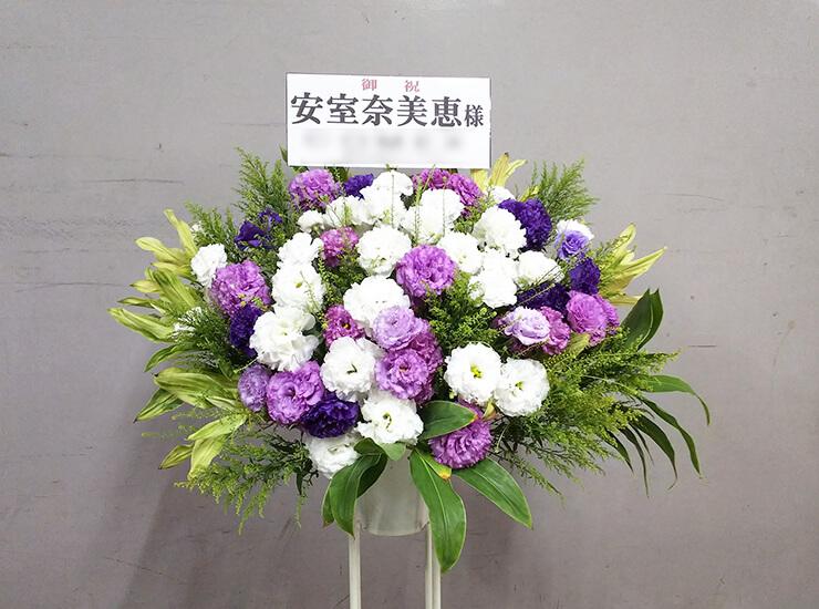 東京ドーム 安室奈美恵様のファイナルツアースタンド花