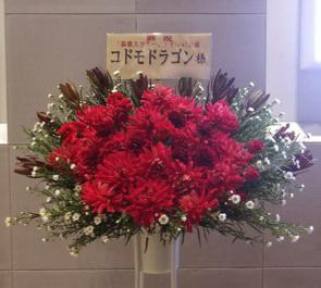 Zeppダイバーシティ東京 コドモドラゴン様のライブ公演祝いスタンド花