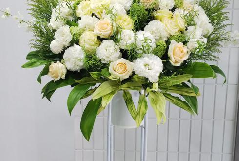 白金SELENE b2 CHIYU様のワンマンツアーファイナルスタンド花