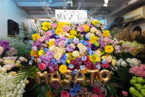 紀伊國屋ホール THE BEAT GARDEN MASATO様の舞台スタンド花colorful