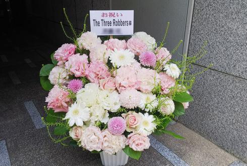 台東区花川戸 The Three Robbers様の移転祝い花