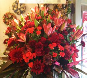 築地ブディストホール 美月まりも様の舞台出演祝いスタンド花