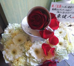 銀座 博品館劇場 伊東健人様の朗読劇出演祝い楽屋花