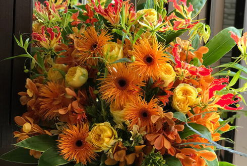 銀座 開店祝いの花