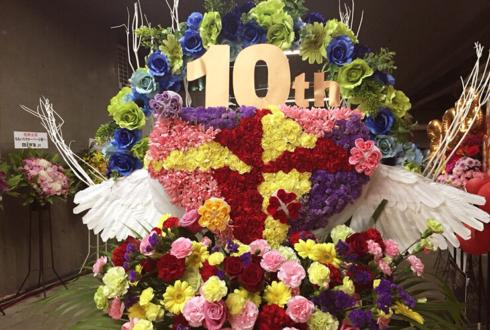 東京ドーム ももいろクローバーZ様の10周年記念ライブフラスタ