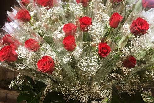 東中野 株式会社JES様の10周年祝いパーティーシェアスタンド花