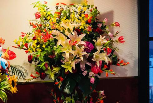 上野 evolution様の7周年祝いスタンド花