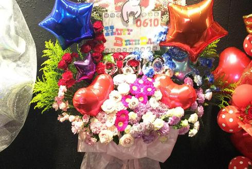 新宿BLAZE コドモドラゴン ハヤト様のバースデーワンマンライブ祝いスタンド花