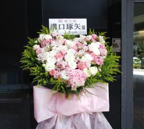 EXシアター六本木 溝口琢矢様の主演舞台ハートスタンド花
