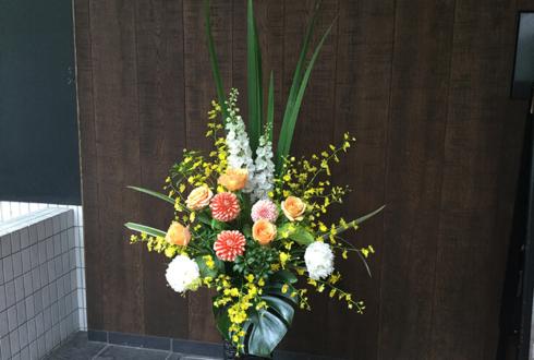 東新橋 ライズTOKYO株式会社様の移転祝い籠スタンド花