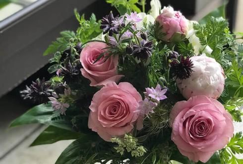 吉川市 奥様の誕生日プレゼントに贈られた花束