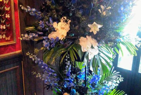 荻窪 CHAMBER OF RAVEN様の開店祝いスタンド花