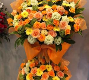 全労済ホール/スペース・ゼロ 神里優稀様の舞台出演祝いスタンド花