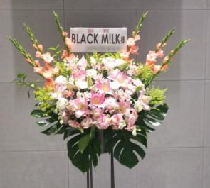 Zeppダイバーシティ東京 BLACK M!LK様のライブ公演祝いスタンド花