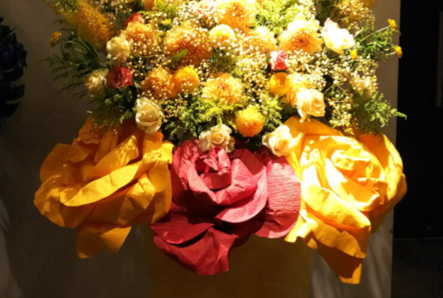 渋谷WWW X 岸洋佑様のバースデーライブ公演祝いスタンド花