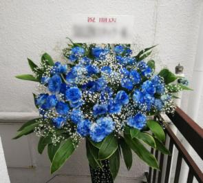 表参道 THE ELEPHANT様の開店祝いアイアンスタンド花