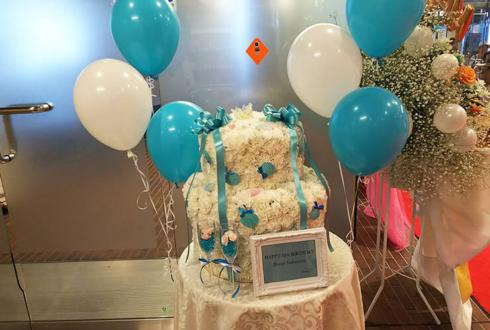 ニッショーホール 仲村宗悟様の番組公開収録祝い&誕生日祝いフラワーケーキ