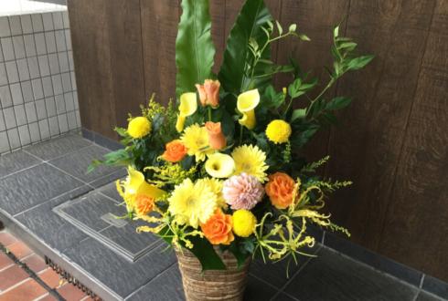 港区白金 mGAZTA様の開店祝い花