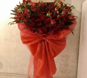 六行会ホール 安里勇哉様の舞台出演祝い花束風スタンド花
