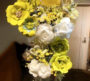 タワーレコード渋谷店 鳥越裕貴様の『RISER』リリース記念イベント祝いスタンド花