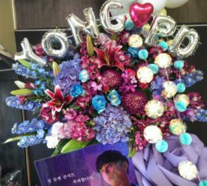 豊洲PIT のライブ公演祝いスタンド花