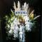 シアターグリーンBIG TREE THEATER 桑野晃輔様の舞台出演祝いアイアンスタンド花