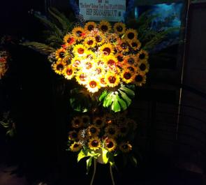 渋谷WWW HIP BEAN SPROUT様の7周年ワンマンライブツアーファイナルスタンド花