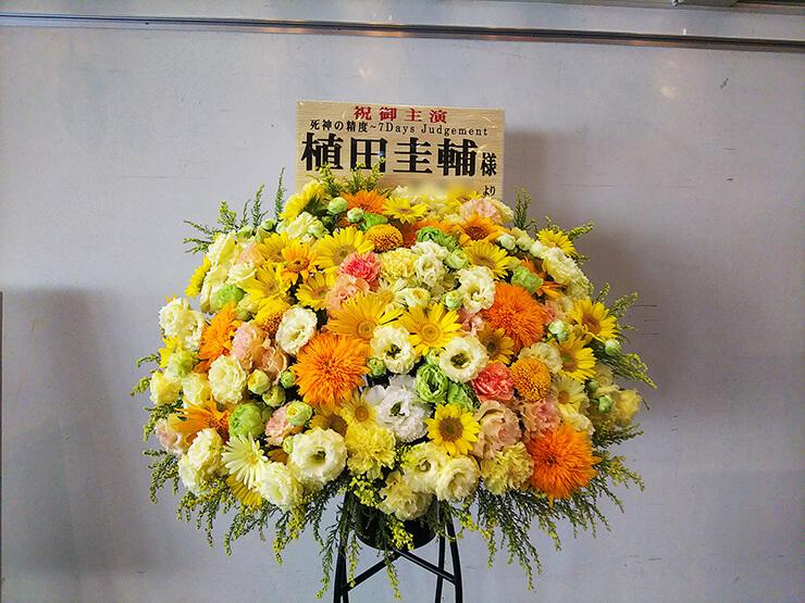 あうるすぽっと 植田圭輔様の舞台出演祝いスタンド花