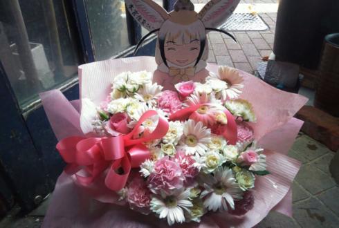 品川インターシティホール 本宮佳奈様のライブ公演祝い楽屋花
