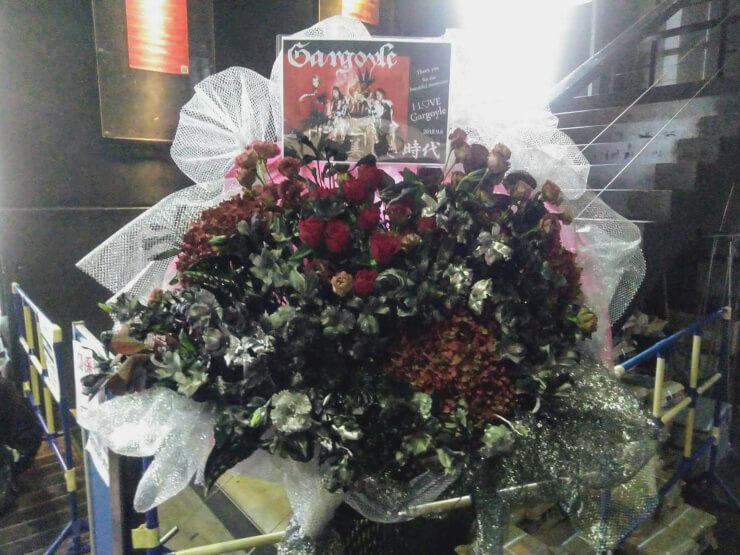 TSUTAYA O-EAST Gargoyle様の現メンバーラストライブ公演祝いスタンド花