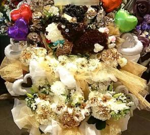 東京国際フォーラム Code:Realizeの皆様の『オトメイトパーティー2018』コーギーモチーフスタンド花